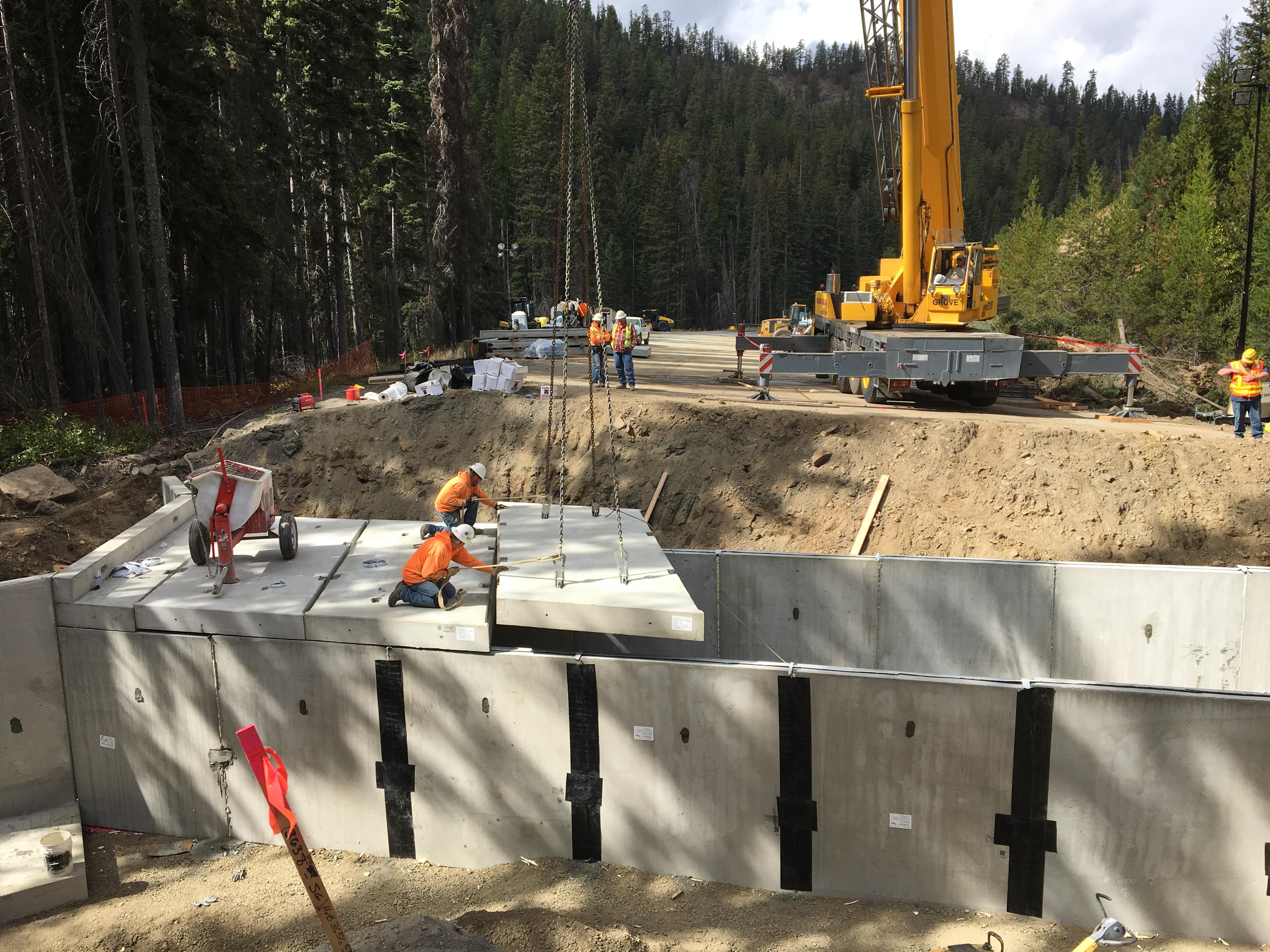 Project: Blewett Pass Culverts